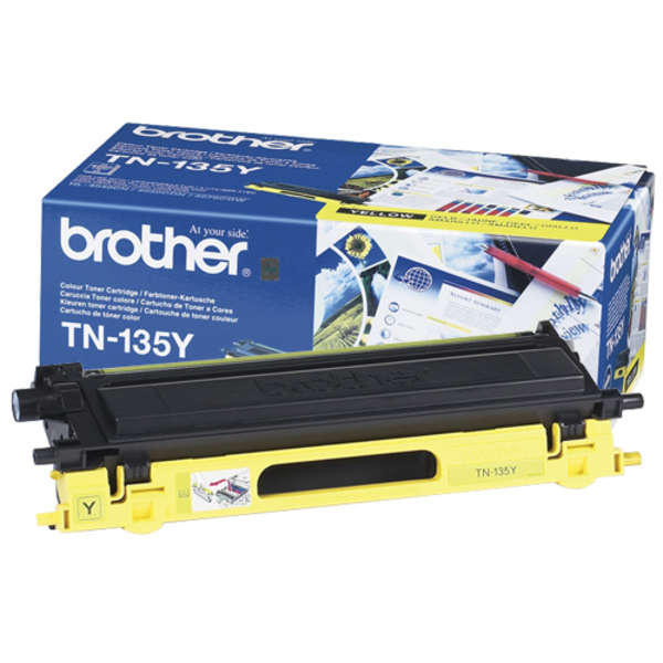 Brother TN-135Y yellow keltainen