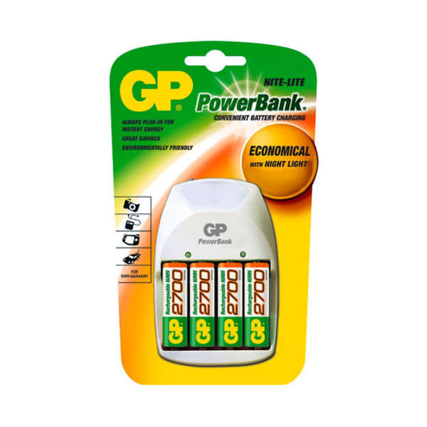Paristolaturi GP Powerbank Nite-Lite